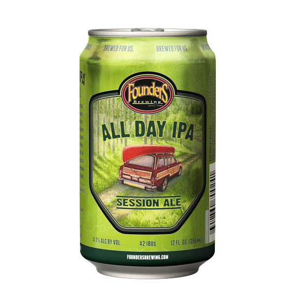 FOUNDERS ALL DAY IPA CAN SGL