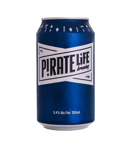 PIRATE LIFE PALE ALE CAN SGL 355ML