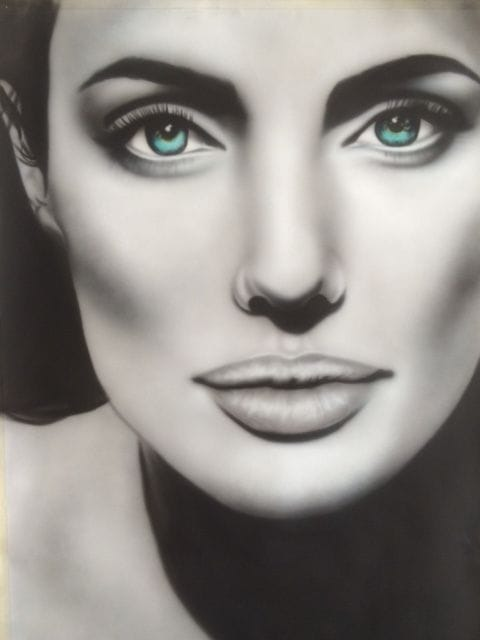 Angelina Jolie by Sheehan