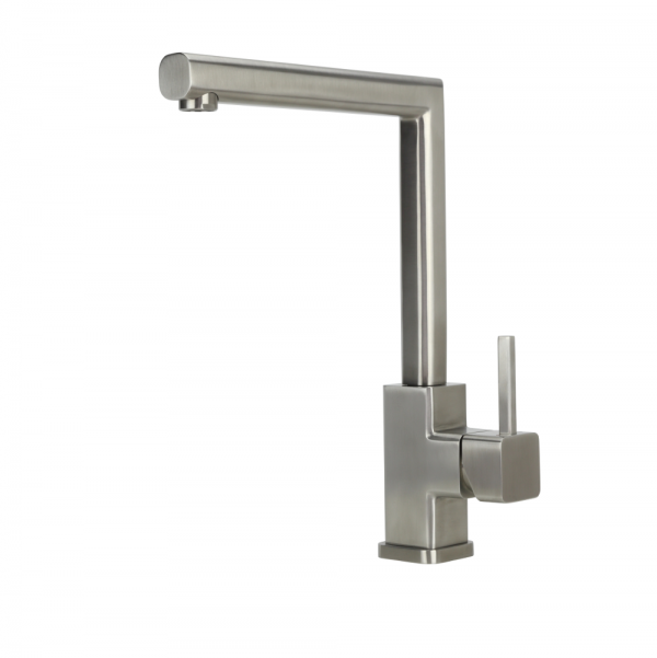 ISAR - Stainless Steel Sink Mixer - Swivel Spout