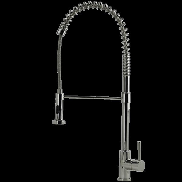 PRIMA - Tall Sink Mixer - Flexi Hose and Vegie Spray