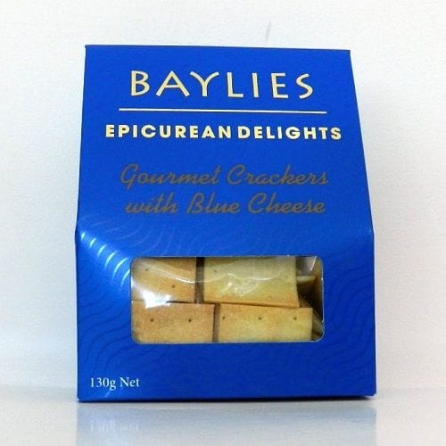 Blue Cheese Crackers 130g