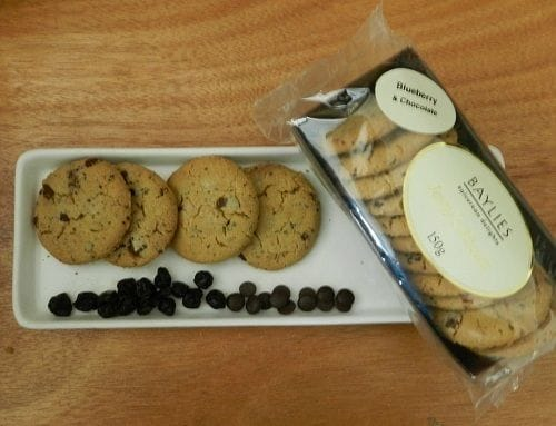 Jenny's Blueberry & Chocolate Biscuits 150g