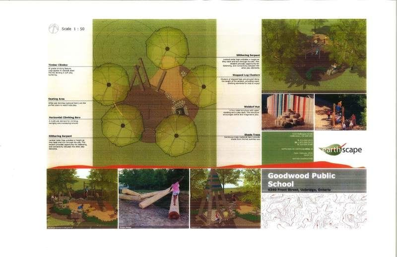 Phase 1 of Tylers naturalized playground, scheduled for May