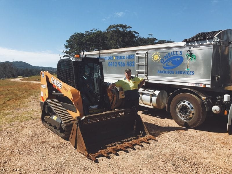 O'Neill's Excavation | Case TR270 Track Loader