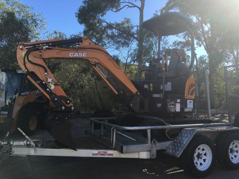A new Mini Excavator for Nytro Earthmoving