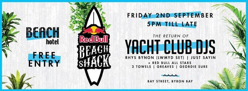 Redbull Party w/ Yacht Club DJs