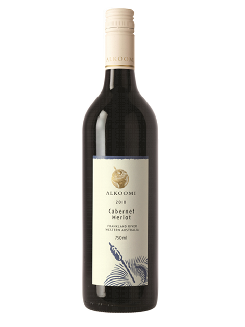ALKOOMI WHITE LABEL CABERNET MERLOT 750ML