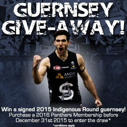 Early Bird Signed Guernsey Give-Away