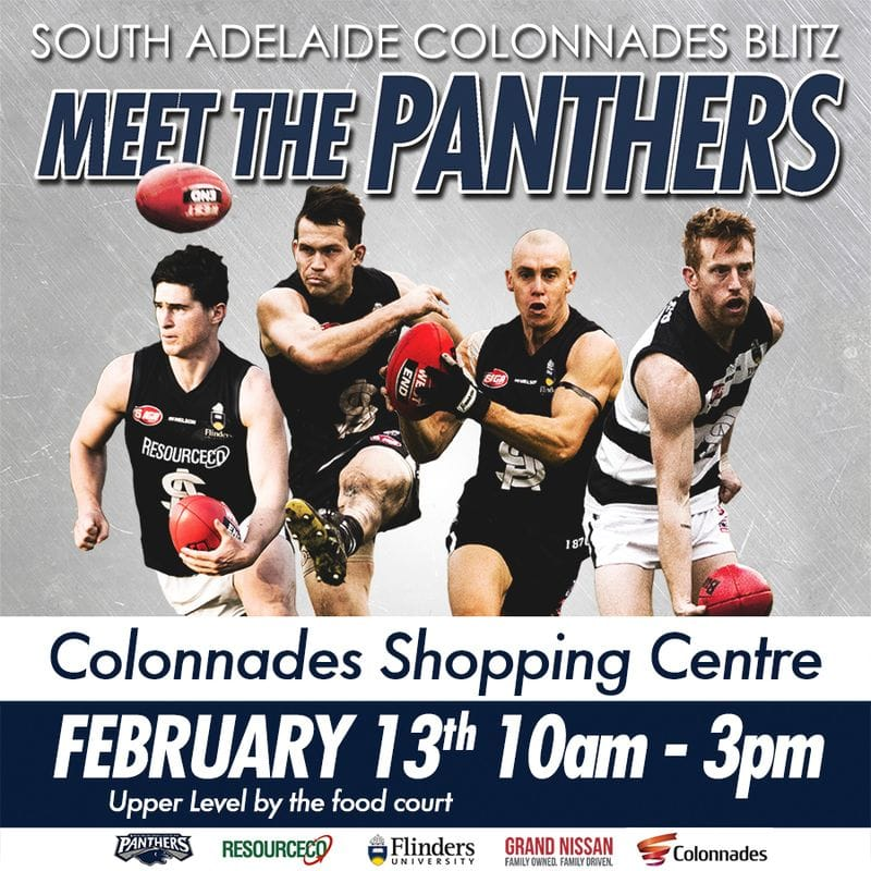 SAFC Colonnades Blitz - Meet the Panthers