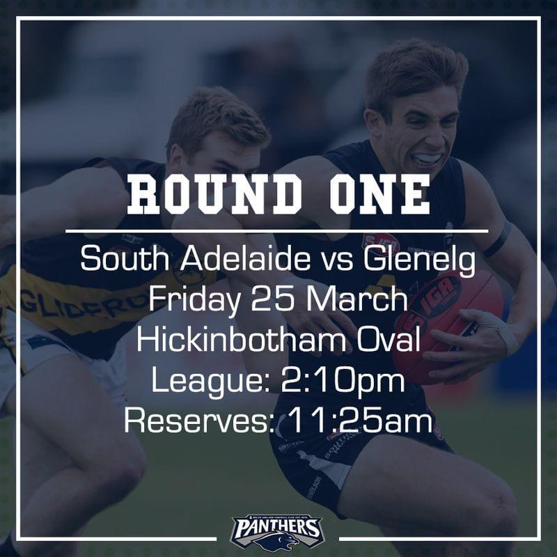 Round One: South vs Glenelg - Teams