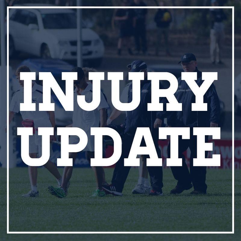 Round One Injury Report