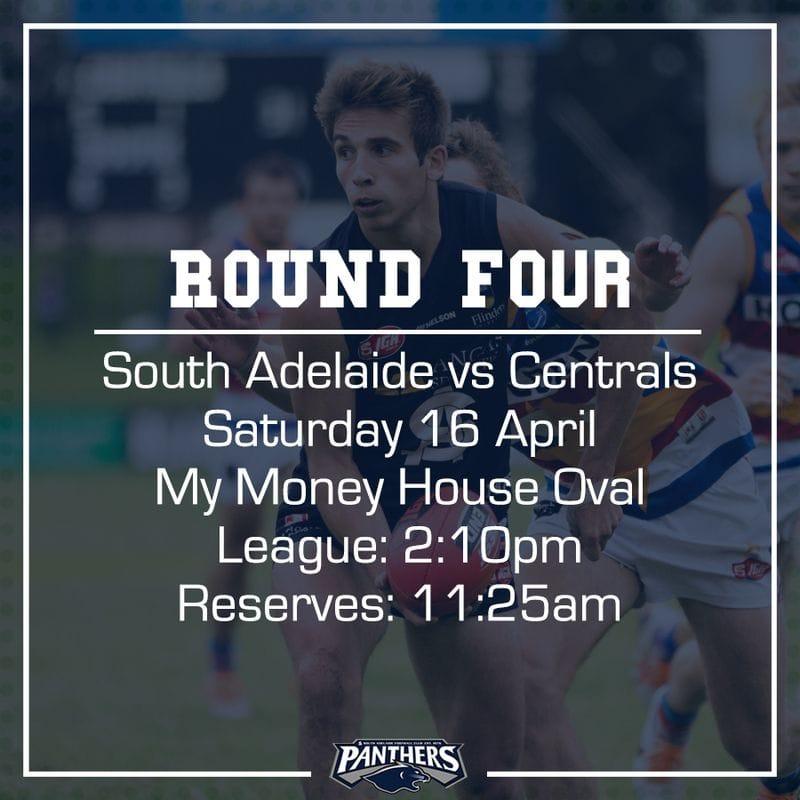 Round Four: South vs Centrals - Teams