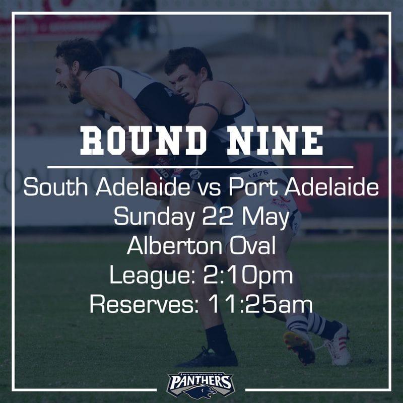Round Nine: South vs Port - Teams