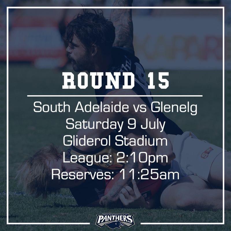 Round 15: South vs Glenelg - Teams