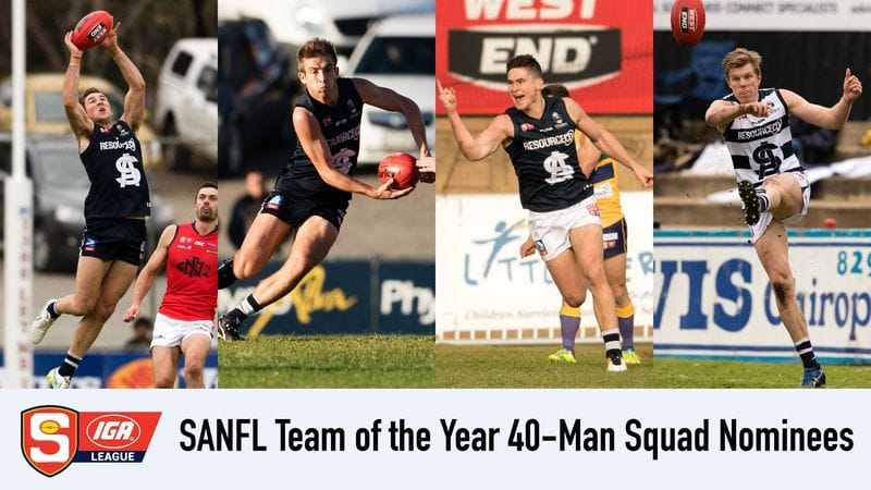 Four Panthers Named in SANFL Team of the Year Squad 40-man Squad