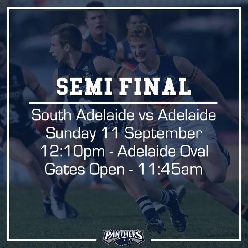 Semi Final Teams - South vs Adelaide