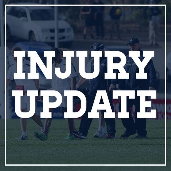Injury Update - Round 10