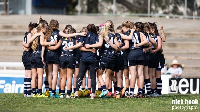 South Adelaide's U17 Girls make 2017 Grand Final!