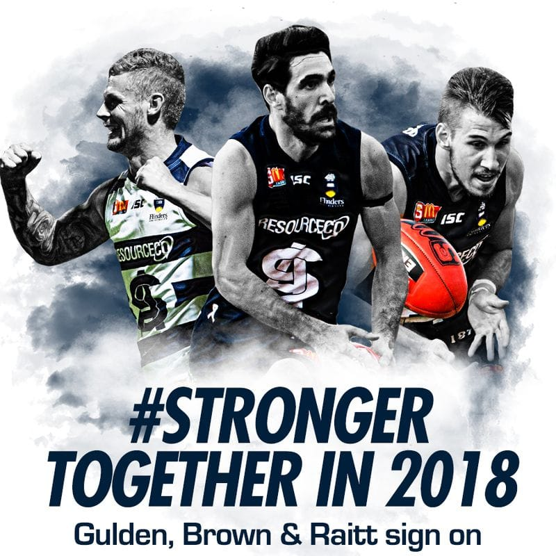 Panthers Trio Back for 2018
