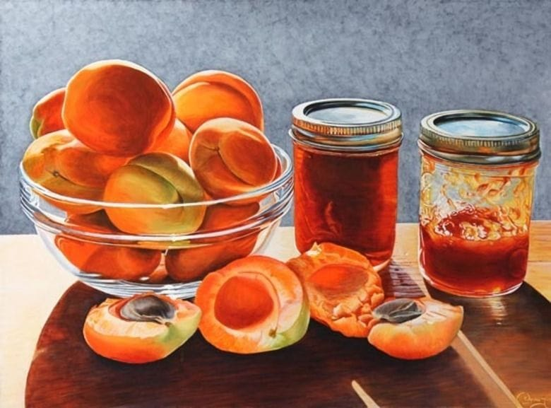 Moorpark Apricots and Jam