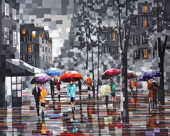 Rainy Day Crowd