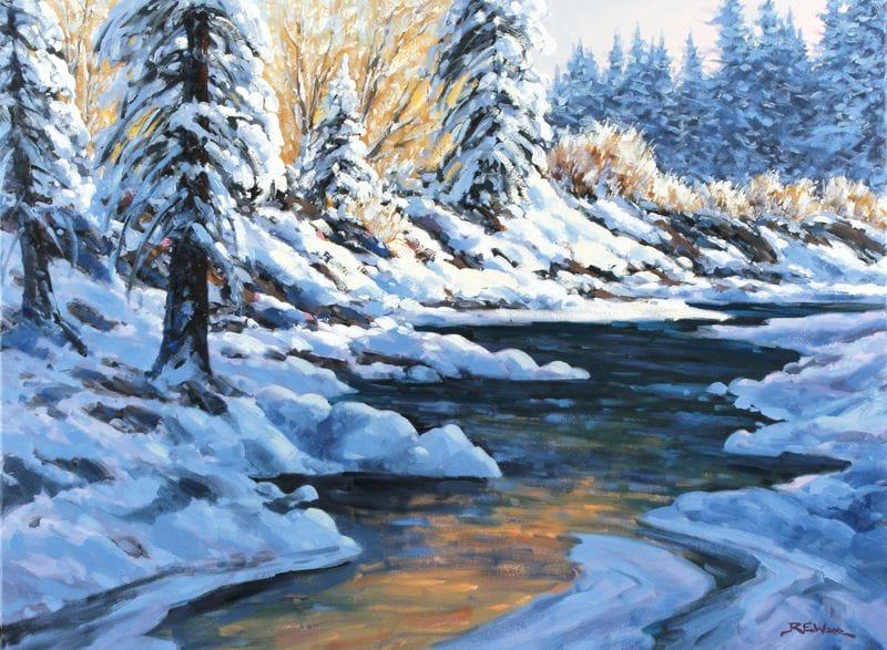Winter Sparkle Fish Creek Park