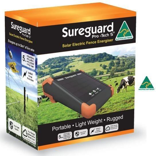 Sureguard Pro-tech 5 Solar Energiser