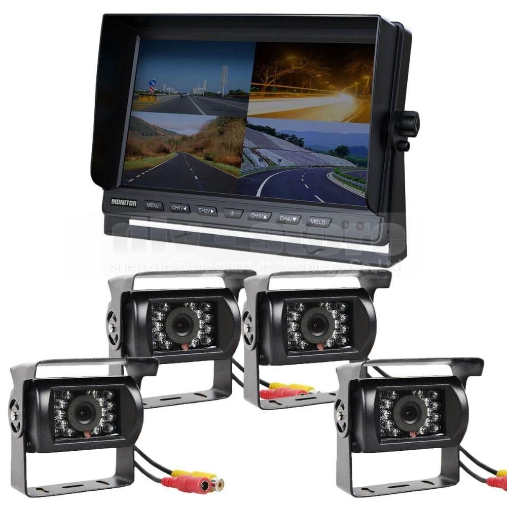 Quad Vision Camera System