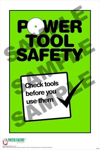 hand tool safety posters. item preview 3 hand tool safety posters