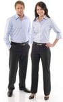 Ladies Relaxed Fit Straight Leg Pants