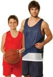 Kids Reversable Basketball Singlet