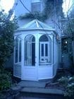 Carlton - Exterior view of a Victorian style conservatory