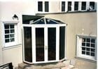 South Yarra - Exterior view of a small conservatory/glass entry