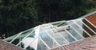Park Orchards - Gable glass roof with hipped end