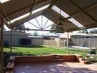 Seymour - An interior view of the pergola/verandah