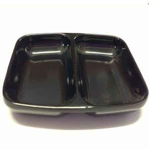 Black Mixing Dish