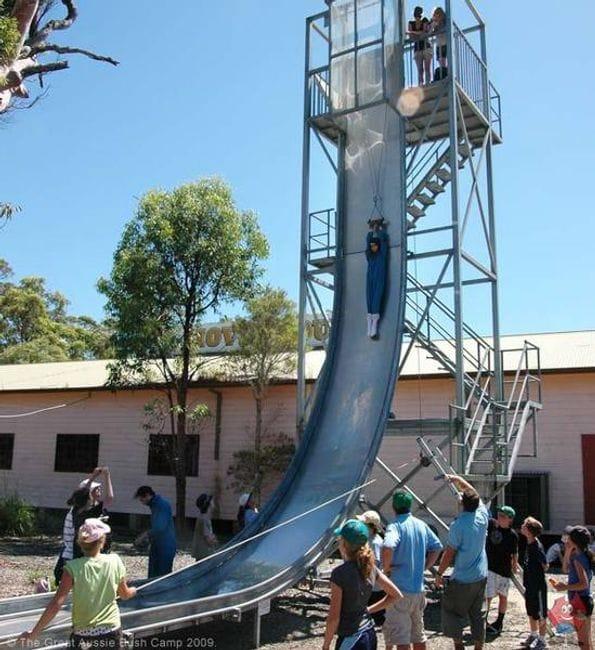 Giant slide - The giant slide apartament ...