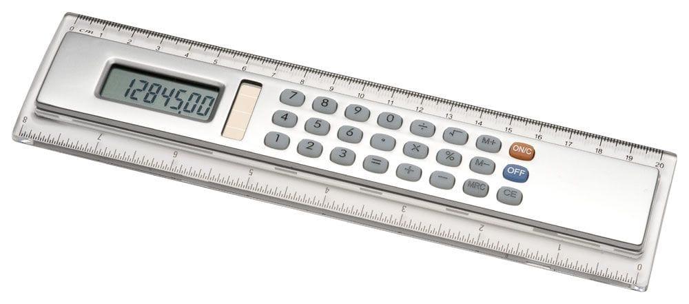 20cm Ruler with Calculator