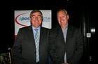 Dicky with our Sponsor John Hicks - Owner Manger of BOQ Frankston