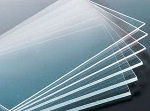 Acrylic Clear Perspex Strip 1100 X 100 X 20mm Thick Clear