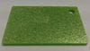 Acrylic Grassy Green Glitter Sheet 300 x 600 x 3mm