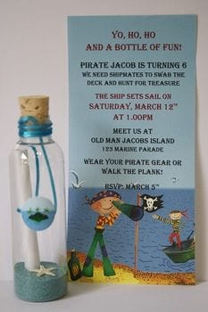 Kids Birthday Invitations | Gorgeous Custom Affordable Budget Friendly | Starting as low as $2.20 each | All Bottled Up | Gold Coast