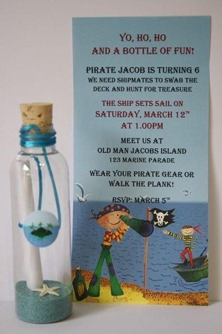 Kids Birthday Partys - Birthday invitation gold coast