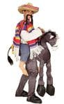 Mexican on a Donkey