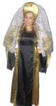 Medieval Black and Gold Dress