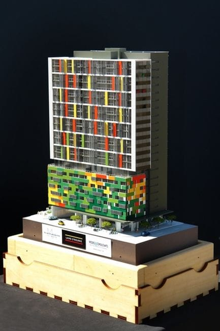 High Rise Model Towers