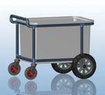 All Terrain 350 Lt laundry Trolley