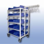 20 Tub Compact Laundry Trolley